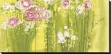 Spring Garden Stretched Canvas Print by Aunaray Carol Clusiau