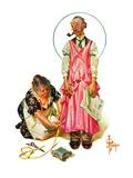 """Living Mannequin,""March 5, 1932 Giclee Print by Joseph Christian Leyendecker"