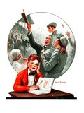 """Daydreams of Baseball,""May 9, 1925 Giclee Print by Robert Robinson"