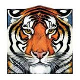 """Tiger Head,""September 18, 1926 Giclee Print by Paul Bransom"