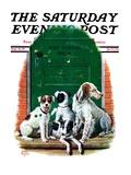"""Faithful Friends,"" Saturday Evening Post Cover, September 14, 1929 Giclée-vedos tekijänä Alan Foster"