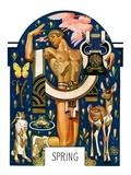 """Spring 1929,""March 30, 1929 Giclee Print by Joseph Christian Leyendecker"