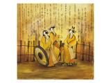 Japanese Dreams 2 Posters by Vaan Manoukian