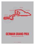 German Grand Prix 1 Premium Giclee-trykk av  NaxArt