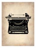 Vintage Typewriter 2 Premium Giclee-trykk av  NaxArt