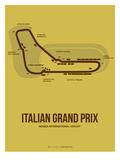 Italian Grand Prix 1 Poster av  NaxArt