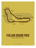 Italian Grand Prix 1 Kunstdruck von  NaxArt