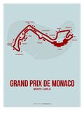 Monaco Grand Prix 3 Posters af  NaxArt
