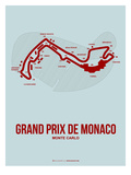 Monaco Grand Prix 3 Print by  NaxArt
