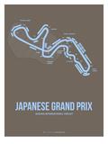 Japanese Grand Prix 1 Posters av  NaxArt