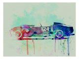 Ferrari Testa Rossa Watercolor 2 Affiches par  NaxArt