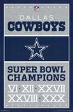 Dallas Cowboys Champions Prints