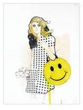 Never Been So Happy Giclée-Premiumdruck von  Mydeadpony