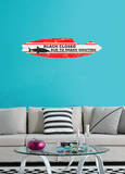 Shark Board Wall Decal Sticker Adesivo de parede