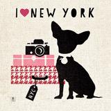NY Pooch Pôsteres por Sarah Mousseau