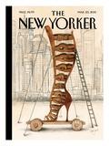 The New Yorker Cover - March 25, 2013 Giclée-Premiumdruck von Ana Juan