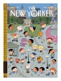 The New Yorker Cover - May 31, 2010 Giclée-tryk af Ivan Brunetti
