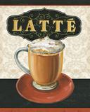 Kaffeøyeblikk II Posters av Lisa Audit