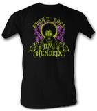 Jimi Hendrix - Stone Free T-shirts
