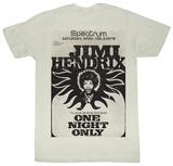 Jimi Hendrix - Jimi At The Spectrum T-Shirts