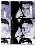 Little Miss S - Edie Sedgwick Serigraph by  Print Mafia