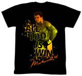 Muhammad Ali - Boom Boom Pow Tshirt