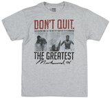 Muhammad Ali - Suffer Now Camiseta