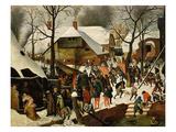 The Adoration of the Magi Giclée-vedos tekijänä Pieter Brueghel the Younger