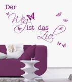 Der Weg Wall Decal by Andrea Haase