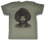 Jimi Hendrix - Rosebud T-shirts