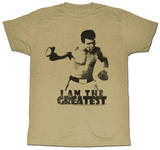 Muhammad Ali - I Am The Greatest Camisetas