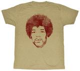 Jimi Hendrix - Face It Shirts