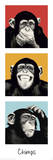 The Chimp - pop Print
