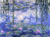 Vattenliljor Affischer av Claude Monet