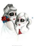 Maria Sisters Prints by  Misstigri