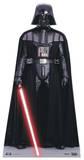 Darth Vader met Clone Troopers op de achtergrond Kartonnen poppen