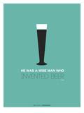 Beer Glass Yellow Posters por  NaxArt