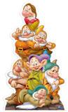 Seven Dwarves Pappfigurer