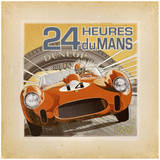 24 Heures Du Mans Prints by Bruno Pozzo
