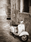 Italy, Apulia, Lecce District, Salentine Peninsula, Salento, Lecce, Vespa Scooter Photographic Print by Francesco Iacobelli
