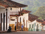 Colonial Town of Barichara, Colombia, South America Fotografie-Druck von Christian Heeb