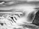 Gullfoss Waterfall, Iceland Reproduction photographique par Nadia Isakova