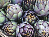 Italian Artichokes (With Spines) in a Basket Photographic Print by Mario Matassa