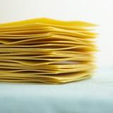 A Stack of Lasagne Sheets Fotografisk tryk af Dave King