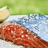Salmon with Salt Fotografie-Druck von Manuel Krug
