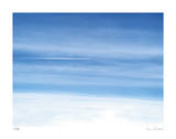 Passing Jet at 37000 Feet Giclee Print by Shams Rasheed