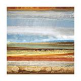 Earth Layers II Giclee Print by Selina Rodriguez