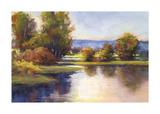 Lake View 1 Giclee Print by Amanda Houston