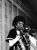 Shirley Chisholm - 1972 Photographic Print by Maurice Sorrell