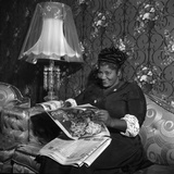 Mahalia Jackson - 1960 Fotoprint av William Lanier